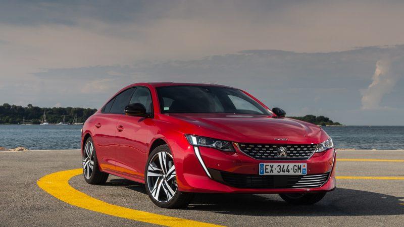 508 (ici le modèle thermique) © Peugeot